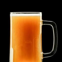 TUDOR BEER MUG GLASS
